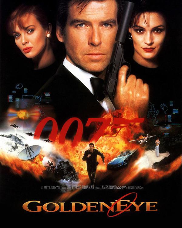 """Activision   Eurocom – """"GOLDEN EYE 007"""""""