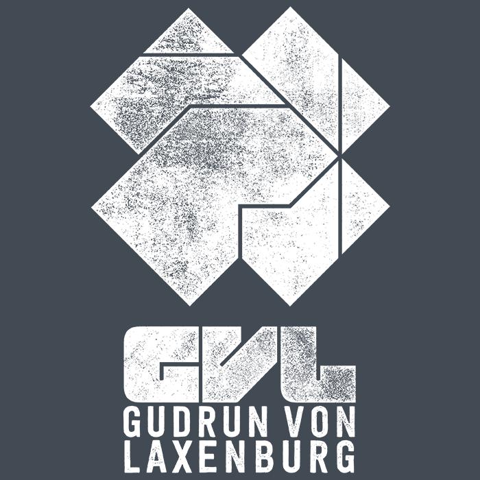 Gudrun Van Laxenburg - Logo White